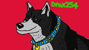 Loup In Wolf's Rain Style 2 by Drax254