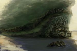 Lion Turtle by molcray