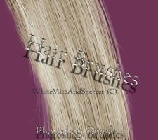 Hair Brushes by WhiteMiceAndSherbet