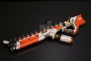 District 9 Assault Rifle by mangrasshopper