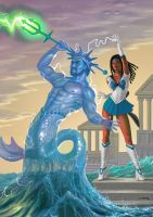 Sailor Triton by AlanGutierrezArt