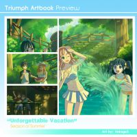 Triumph Artbook: Unforgettable Vacation by Hokage3