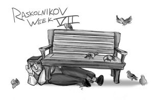 Raskolnikov Week 7 by theTieDyeCloak