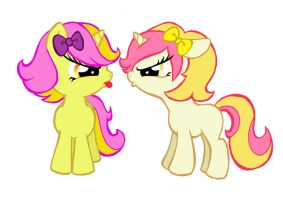 Sibling Rivalry by PeachPalette