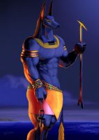 Anubis, The Guider of Souls by Tonite