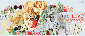 Alice in The Wonderland signature by saredGfx