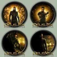 Deus Ex: Human Revolution Icons by kodiak-caine