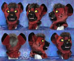 Yena Hyena Fursuit Head by LobitaWorks