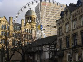 The Ferris Wheel Manchester by fourimpromptus