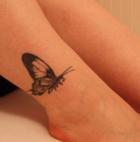 Butterfly Tattoo by Synthara