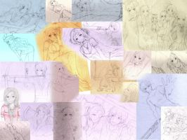 sketchdump 5 by Suihara