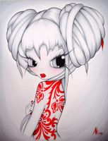 Chinese Holly by Anarkitty1