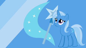 - Trixie Wallpaper V2 - by Ponyphile