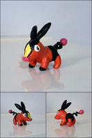 PKMN: Tepig or Pokabu by yingmakes