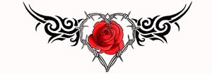 Flower Lower Back Rose Tattoo Designs Picture 3