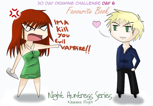 Drawing Challenge: Day 6 by Lilith-Black
