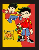 American Dragon Jake Long by dannyandoxeld