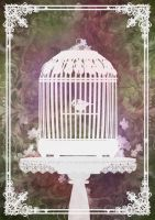 Birdcage by CassiopeiaArt