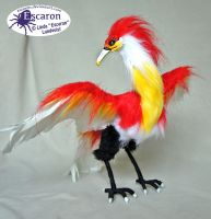 Phoenix Aska - Posable Doll (SOLD) by Escaron