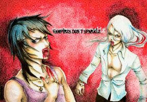 Vampires do not sparkle by Tacaret