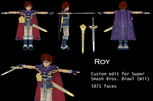 Roy V4, Custom 3D model by Vert092