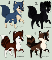 Point Adoptable's. by PrinceRogerRabbit