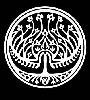 The Royal Seal bw by LeafOfSteel
