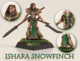 Ishara Snowfinch by WinterFlightDesign