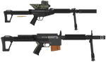 M3-0W Sniper rifle + Sig-7 (PMG CODE) by BeadedGreenLizard