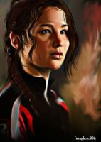 katniss everdeen-HG by Firesphere306