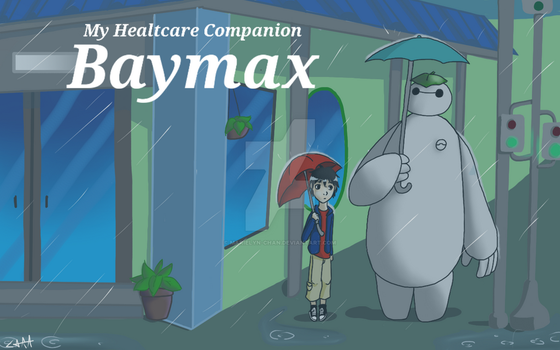 My Healthcare Companion Baymax by marielyn-chan