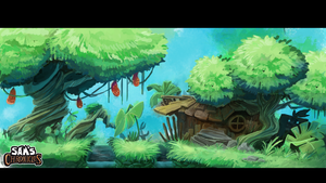 Swamp by gamanimonster