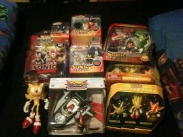 Even more Sonic Stuff I collected 2014 by ClassicSonicSatAm