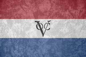 United E. India Co. ~ Grunge Flag (c. 1660 - 1800) by Undevicesimus