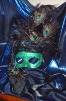 Jaded Gypsy Mask by silverfaction