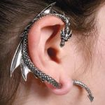 The Dragon's Lure Ear Stud by nemesisnow23