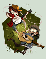 dueling banjos by FailTaco