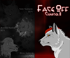 Face Off - Chapter End/Cover II by Solitaire-Loup