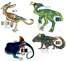 Creature Adoptables [CASH ONLY] by Linkaton