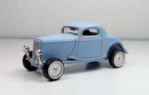 Johnny Lightning 1934 Ford Coupe by Firehawk73-2012