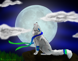 Commis- White Wolf by Moonlight-Wolf321