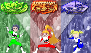 PPGZ Gingaman for UdinIwan by rangeranime
