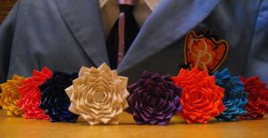 Duck Tape: Ouran Roses by Meika02