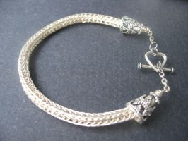 Sterling Silver Viking Weave by andrewk1969