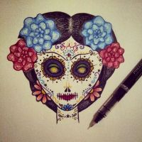 Sugar Skull by LadyduLac
