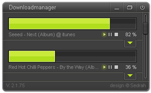 Downloadmanager Design by Sed-rah