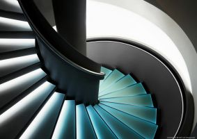 Spiral Staircase by pingallery