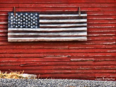 Patriotism On The Farm by jim88bro