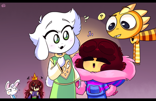 Papytale - ''I know that voice!...'' by KatelynnTheG