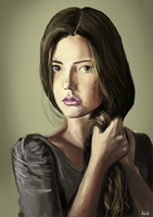 Portrait Study # 2,394 by checkityall
